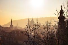 Besichtigung in Prag Lizenzfreie Stockfotos