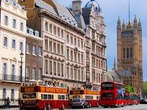 Besichtigung transportiert London, England lizenzfreies stockfoto