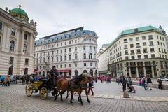 Besichtigung in Wien Lizenzfreies Stockfoto