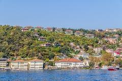 Besiktas Costantinopoli Fotografie Stock Libere da Diritti