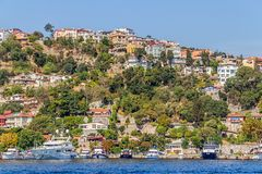 Besiktas Costantinopoli Fotografia Stock