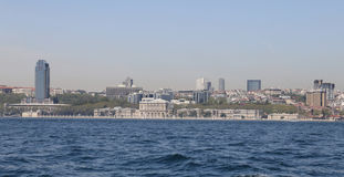 Besiktas district in Istanbul city Stock Photos