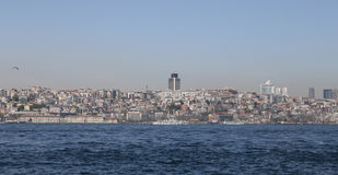Besiktas district in Istanbul city Stock Images