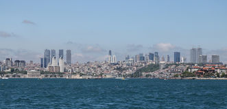 Besiktas District in Istanbul City Stock Image
