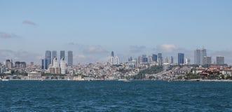 Besiktas District in Istanbul City Stock Image
