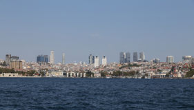 Besiktas District in Istanbul City Royalty Free Stock Images