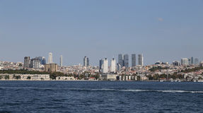 Besiktas District in Istanbul City Stock Photography