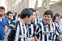 Besiktas Fans Stock Images