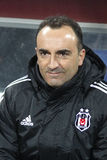 Besiktas football team's manager Carlos Carvalhal Stock Images