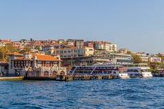 Besiktas Iskelesi Costantinopoli Fotografia Stock