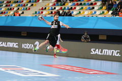 Besiktas MOGAZ HT and Dinamo Bucuresti Handball Match Royalty Free Stock Photos