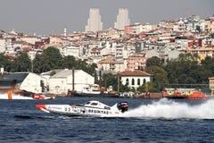 BESIKTAS Prędkości łódź Obrazy Stock