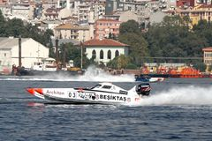 BESIKTAS team on the race Stock Image