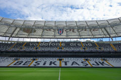 Besiktas Vodafone arena i Istanbul Royaltyfri Foto