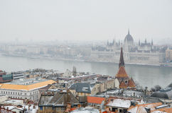 Beskåda av Budapest Arkivbild