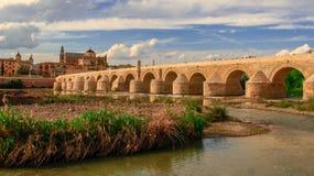 Beskåda av Cordoba Moore cityscape Spanien Andalucia fotografering för bildbyråer