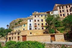 Beskåda av Cuenca Arkivfoto