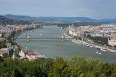 Danube River Royaltyfria Foton
