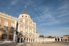 Kunglig slott av Aranjuez Royaltyfria Foton