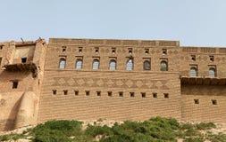Slottet av Arbil, Irak. Royaltyfria Foton