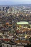 Foreshortening Naples Royaltyfri Bild