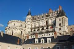 Château på Amboise Fotografering för Bildbyråer