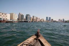Dubai Creek arkivbilder