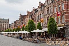 Beskåda av kvadrerar Grote Markt Arkivbilder