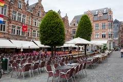 Beskåda av kvadrerar Grote Markt Royaltyfri Foto