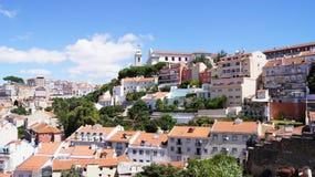 Beskåda av Lisbon Royaltyfri Foto