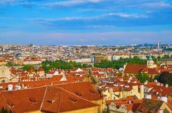 Beskåda av Prague Royaltyfria Bilder