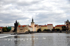 Beskåda av Prague fotografering för bildbyråer