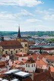 Beskåda av Prague Arkivbilder