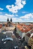 Beskåda av Prague Royaltyfri Fotografi