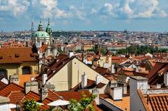 Beskåda av Prague Royaltyfri Foto