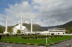 SchahFaisal moské Islamabad Fotografering för Bildbyråer