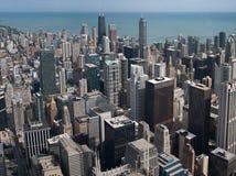Chicago skyskrapor från Willis står hög Royaltyfria Bilder