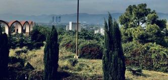 Beskåda av staden royaltyfri fotografi