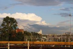 Beskåda av staden Arkivfoton