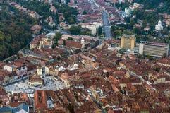 Beskåda av staden av Brasov Arkivfoto