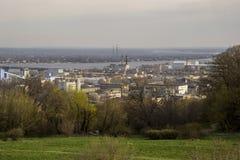 Beskåda av staden kiev Royaltyfri Fotografi