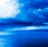 Beskåda av stormseascape Fotografering för Bildbyråer