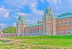 Beskåda av storslagen slott Royaltyfri Foto