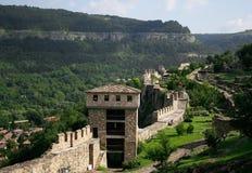 Beskåda av Veliko Tarnovo i Bulgarien Royaltyfria Foton