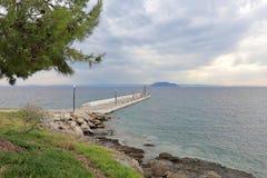 Beskåda den Kelifos ön Fotografering för Bildbyråer