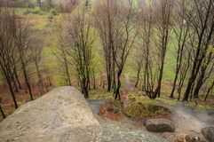 Beskåda från berg arkivbilder