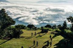 Beskåda från berg Arkivfoton