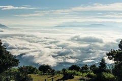 Beskåda från berg Royaltyfria Bilder