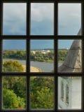 Beskåda från fönsterklockstapeln Royaltyfria Foton