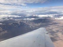 Beskåda från flygplan Royaltyfria Foton